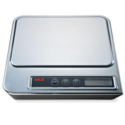 Seca 856 Electronic Kitchen Scale With Stainless Steel Cover  3,000 x 1 g and 5,000 x 2 g