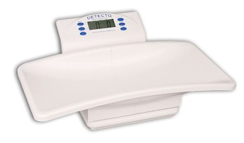 The Detecto digital pediatric scale, detecto scales